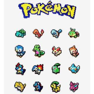 Pokemon Hama Designs