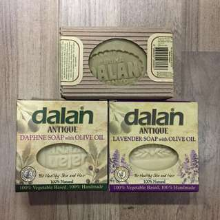 Olive soap dalan brand from turkey 170gm