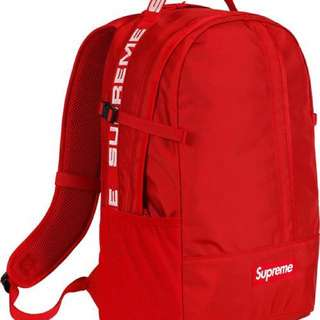 (On Hand) SS18 Supreme Backpack