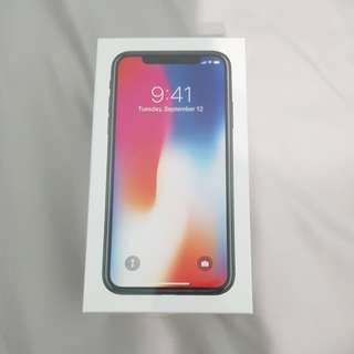 iPhone X 256GB Space Gray Sealed