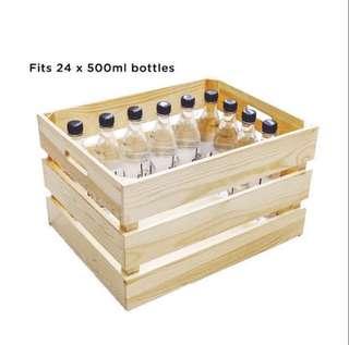 {RENT} Jumbo Wooden Crate
