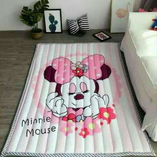 100% Cotton, Extra Thick, Washable & Anti-Slip Play Mat