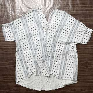 Vintage Thrift Bohemian Blouse