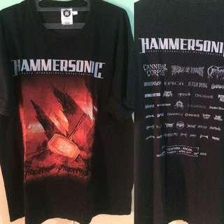 Hammersonic Fest 2013 tshirt