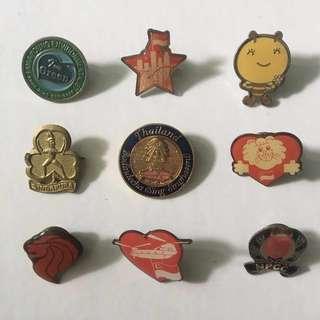 Assortment of Badges