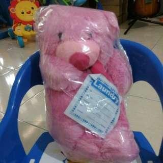 #MakinTebel Boneka Beruang Pink