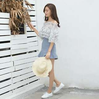 Off Shoulder Blouse [2018 new style]