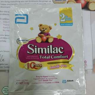 Similac Total Comfort Stage 2 Sample . 30,8g .for Easy Digestion Tummy Care By Abbott