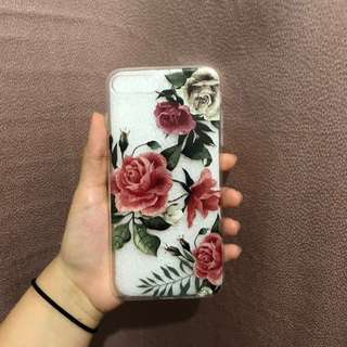 Floral iphone case 7 plus 8 plus