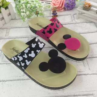 Mickey Silhouette Slippers