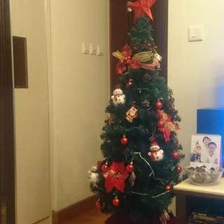 1.5米高環保聖誕樹
