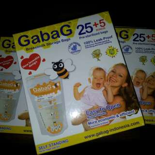 Gabag breastmilk storage