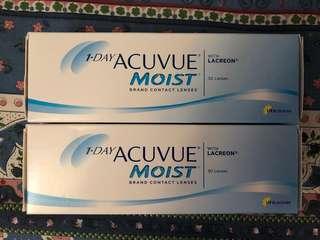 出售1 day acuvue moist