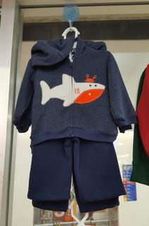 Shark jacket set 2pcs