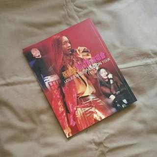 罕有 張國榮熱情演唱會 寫真集 書志 相集。