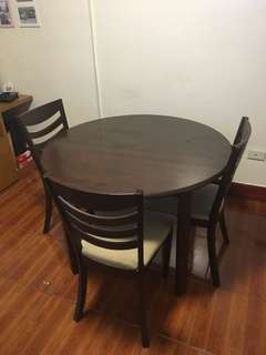 RUSH Sale! Dining Set