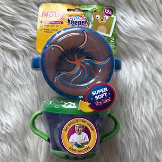 NEW Nuby Snack Keeper 12m+