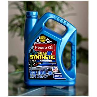 FEOSO SEMI SYNTHETIC SAE 10W40 GENUINE ENGINE OIL