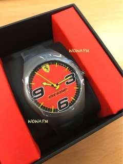 Ferrari pitstop Watch 法拉利錶 black watch