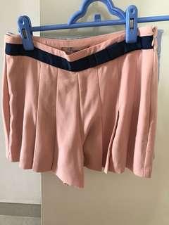 購自日本粉紅色裙褲