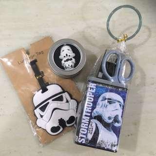Star Wars USB + Stationery + Luggage Tag Set
