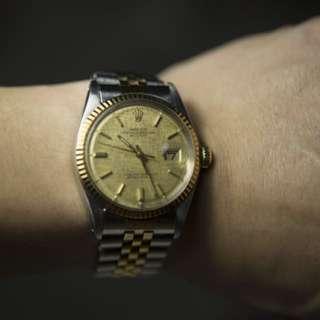 Rolex Datejust 1601 Sigma Linen Dial (1971)