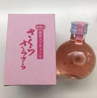日本金箔櫻花酒 180ml
