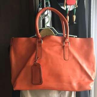 Preloved katre leather bag
