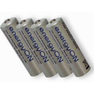 Rechargeable Battery Low Self-Discharge NiMH 4 x AAA