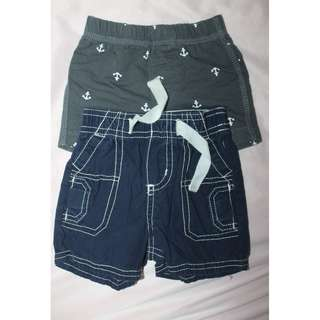 OshKosh/Carter's baby shorts 3m