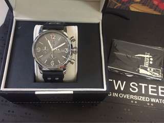 tw steel leather watch