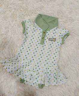 Girl's Dress Rompers (3-6 months)