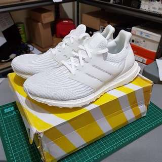 NEW ADIDAS ULTRA BOOST 3.0 TRIPLE WHITE