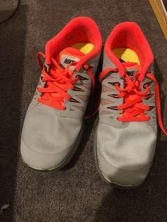 Nike Free Run 5.0 grey & orange