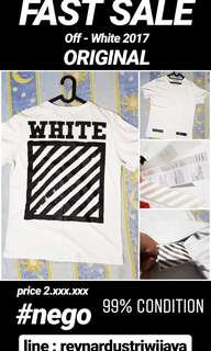 Off white t shirt ORIGINAL