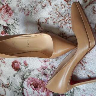 """Christian Louboutins NUDE PIGALLE 120"""" NEW HEELS"""