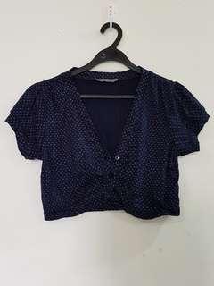🔴A132 Temt short cardigan tops