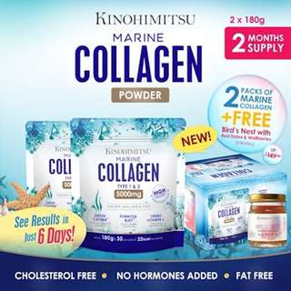Kinohimitsu Marine Collagen Bundle