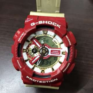 Gshock Iron-man Mark42 Colorway