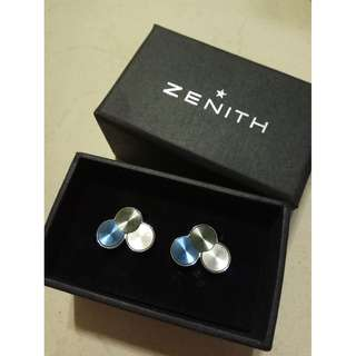 Zenith Cuff Links Brand New in Original Box