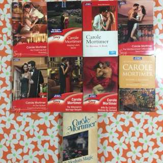 Carole Mortimer Book Bundle