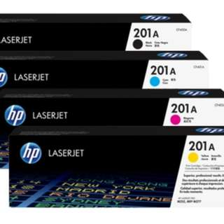 HP M252 Original Cartridges #201X (4 Colors & High Capacity)