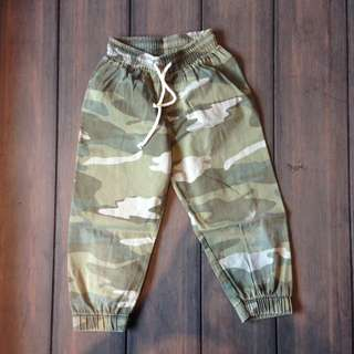 Boys army long pants