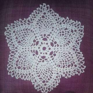Star Shaped Pineapple Doily