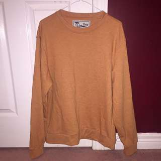 OVERSIZED ORANGE CREWNECK