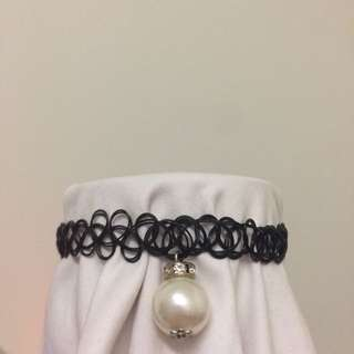 [PWP] Choker with Pearl