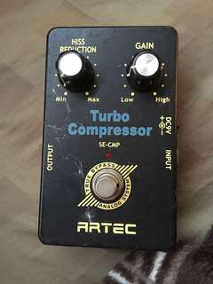Artec turbo compressor