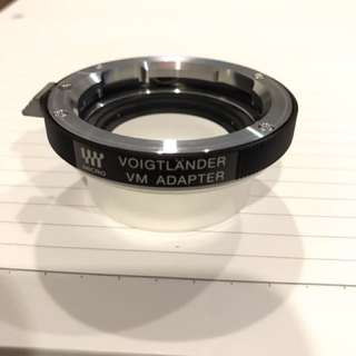 Voigtlander VM m4/3 Adaptor (Leica M to m4/3)