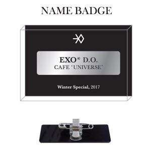 [Preorder] EXO UNIVERSE OFFICIAL GOODS - CAFE NAME TAG