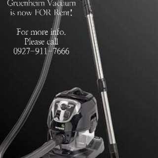 Gruenheim Vacuum and Steam for rent!